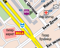 map of store София - Надежда